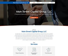 Main Street Capital Group, LLC
