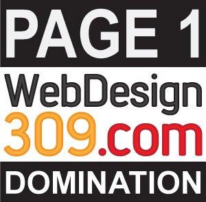 P1D Logo - Page One Domination - WebDesign309.com