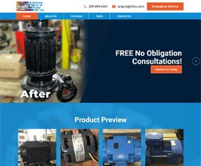 Armature Motor & Pump Co. Inc.